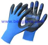 перчатка нитрила 15g покрытая, хорошее сжатие
