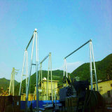 Структура подстанции передачи силы угла 500 Kv стальная
