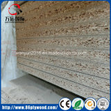 E1 classe, placa de partícula da melamina da alta qualidade para a mobília, decoração