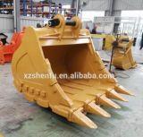 掘削機Caterpiller Cat330d 2.0cbmのためのSfの石のバケツ