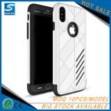 PC TPU 2 in 1 Deckel-Shockproof Telefon-Kasten für iPhone 8