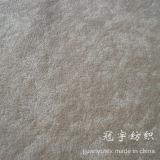 Tissu tacheté tricoté de velours de pile pour la maison