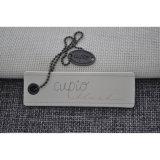 Strand orientado Board Hangtags para Luggage y Garments con String