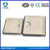 Крышка люка -лаза En124 составная FRP квадратная