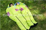4 temporada al aire libre Sobres Impermeable Forma Militar Ligero Bolsa de dormir