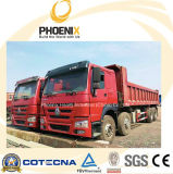 De gebruikte Vrachtwagen van de Stortplaats HOWO (8X4) 371HP met Capaciteit 40tons voor Afrika