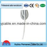 Cordon Non-Polarisé plat d'alimentation AC de Pin de Mamufactual Etats-Unis de la fiche approuvée normale chinoise 2 d'UL
