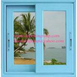 Ventana de desplazamiento de aluminio para el cliente del Caribe, fábrica horizontal de aluminio profesional de la ventana de desplazamiento de China