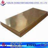Hoja de cobre de C27000 H65 Cuzn37 Cw508L en las existencias de cobre amarillo