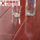Revêtement de sol stratifié de surface brillant classique (Super U-Groove) (AK6801)