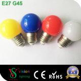 Bombilla romántica decoración multicolor de luz LED de plástico