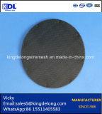 Filtro circular del acoplamiento de alambre de la fábrica de Anping como filtro de agua