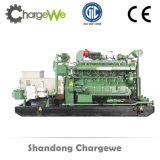 jogo de gerador da biomassa 500kw com motor da alta qualidade
