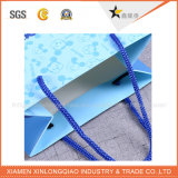L'environnement amical et professionnel fourre-tout sac shopping de papier avec poignée en coton