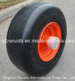 Roda plástica para segadeiras