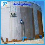 Prezzo d'acciaio della macchina di granigliatura della parete esterna del serbatoio dell'olio