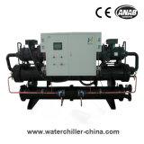 Wassergekühlter Schrauben-Kühler mit Bizer/Hanbell Kompressor