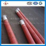 le fil d'acier de 4sp 76mm s'est développé en spirales boyau en caoutchouc de forage