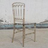 Cadeiras ambarinas transparentes de cristal de Napoleon do casamento de Sillas
