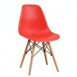 Пластмассовой стороной стул PP EMS обеденный стул с дуба ног