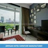 Camera da letto contemporanea poco costosa TV dell'hotel di colore scuro e Tabella dello scrittorio (BS-206)