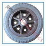 산업 피마자 바퀴 단단한 고무 타이어
