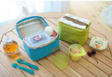 Выдвиженческий мешок Tote охладителя полиэфира Bag& охладителя чонсервной банкы для пикника