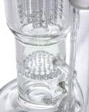 Bienenwabe Perc Baum Perc Huka-zum rauchenden Wasser-Glasrohr (ES-GB-565)