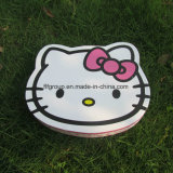 Caixa de chocolate com caixa de chocolate e papelaria ecológica em aparência de personagem de desenho animado