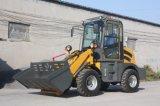 Затяжелитель колеса трактора Wl100 FL910 Ctx910 миниый с ведром вилки 4in1 паллета