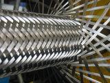 Adapté pour transporter des fluides hydrauliques en acier tressé flexible en téflon