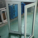 60мм белой рамкой стекла окна UPVC профиль единого социального проекта