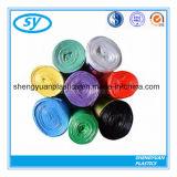 Sacs d'ordures en plastique personnalisés de taille et de couleur