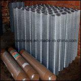 Rete metallica saldata galvanizzata del ferro per costruzione