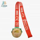 中国の供給の重量挙げのための昇進のカスタム金属の金メダル