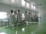 Tanque de mistura de emulsão do champô líquido da loção com homogenizador