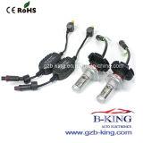 Sin ventilador Slim 6000LM H4 coche Faro LED