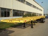 Cimc 2 Behälter-halb Skeleton LKW-Schlussteil der Wellen-40FT für Verkäufe