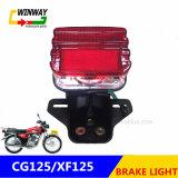 Ww-7175 Motociclo parte da luz de freio da lâmpada traseira para CG125/XF125