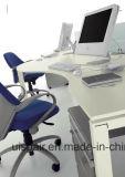 Mobília de escritório moderna da estação de trabalho do escritório de equipe de funcionários da placa do MFC da alta qualidade de Uispair