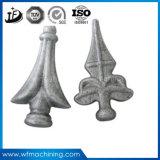 中国からの装飾用の鉄の鋳造の塀ヘッド部品