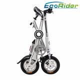 電気バイクのスクーターを折る12インチEのバイクが付いているFoldable電気バイクブラシレスモーター電気自転車