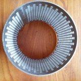 304 316 cilindros aglomerados do filtro de engranzamento do fio do aço inoxidável