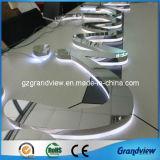 Miroir en acier inoxydable 3D de surface Letter (lettre) de la publicité de métal