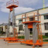 Elevatore della piattaforma di Aerail della lega di alluminio/elevatore elettrico idraulico