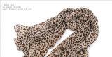 Sciarpa chiffona delle sciarpe della stampa del leopardo di promozione