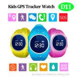 Kinder intelligenter GPS Uhr mit WiFi Datenbank (D11) aufspürend