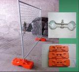 Clôture provisoire portative galvanisée plongée chaude