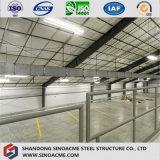 Estructura de acero prefabricados Sinoacme Taller con entresuelo