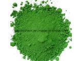 99% [كروميوم وإكسيد] اللون الأخضر لأنّ زجاج خزفيّ